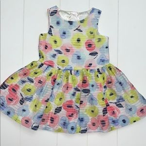 Floral All Over Print Dress Size 2T